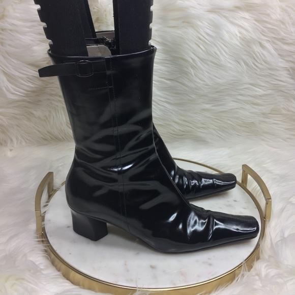 a6b4605b585 Giancarlo Paoli Shoes - Giancarlo Paoli Boots Heels Mid Calf Sz 37 italy